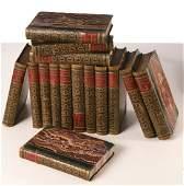 BOOKS: (25) Vols, The Waverly Novels, 1841-1863