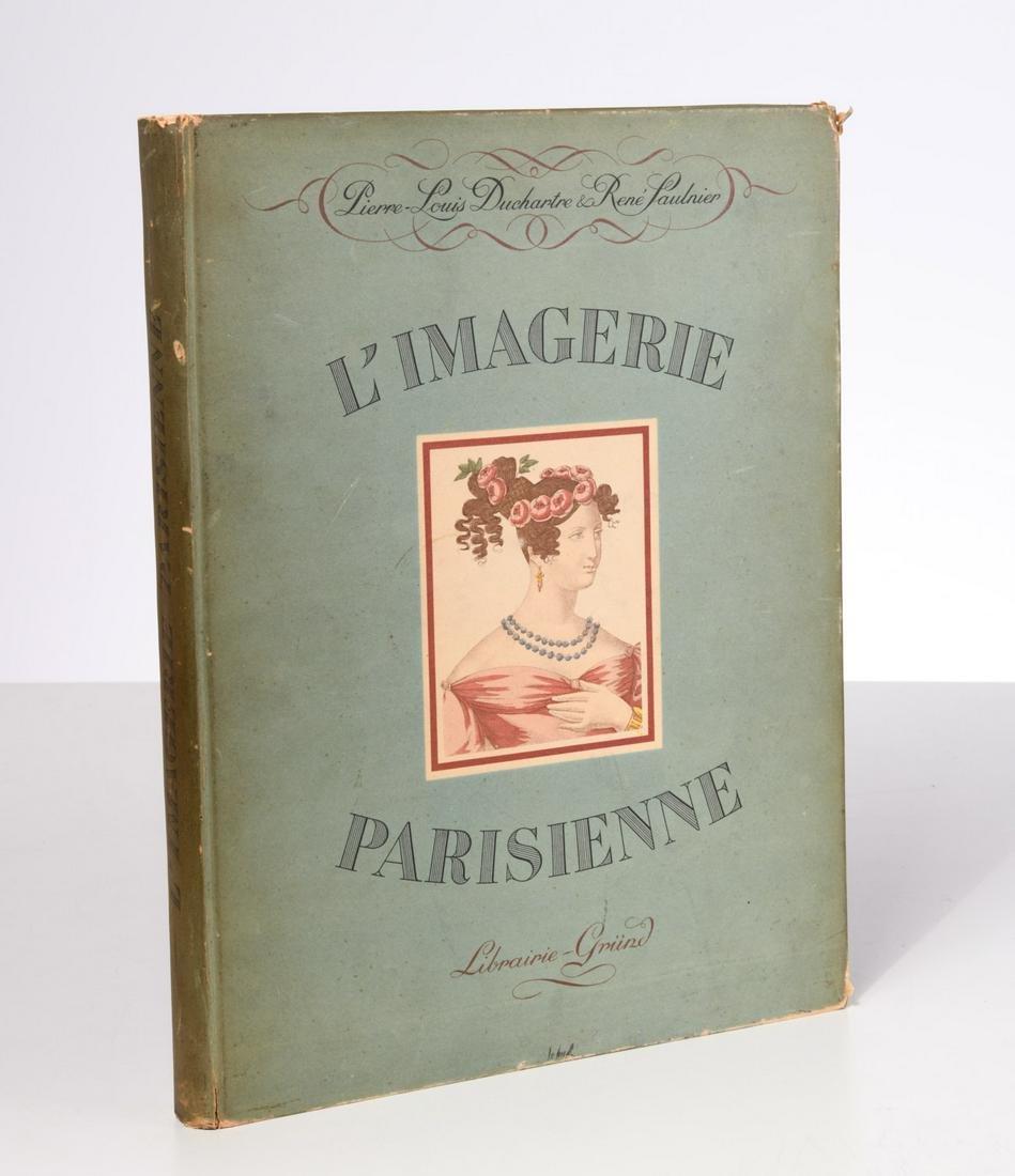 BOOKS: L'Imagerie Parisienne, hand-colored plates