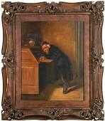 G Ogden portrait painting