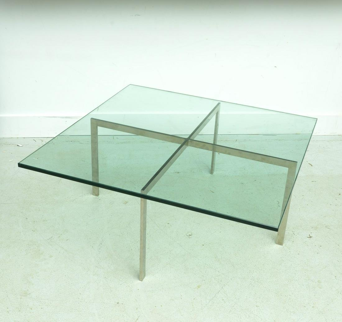 Mies Van Der Rohe / Knoll Barcelona coffee table