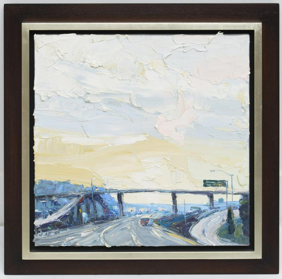 Carolyn Meyer, San Francisco highway painting
