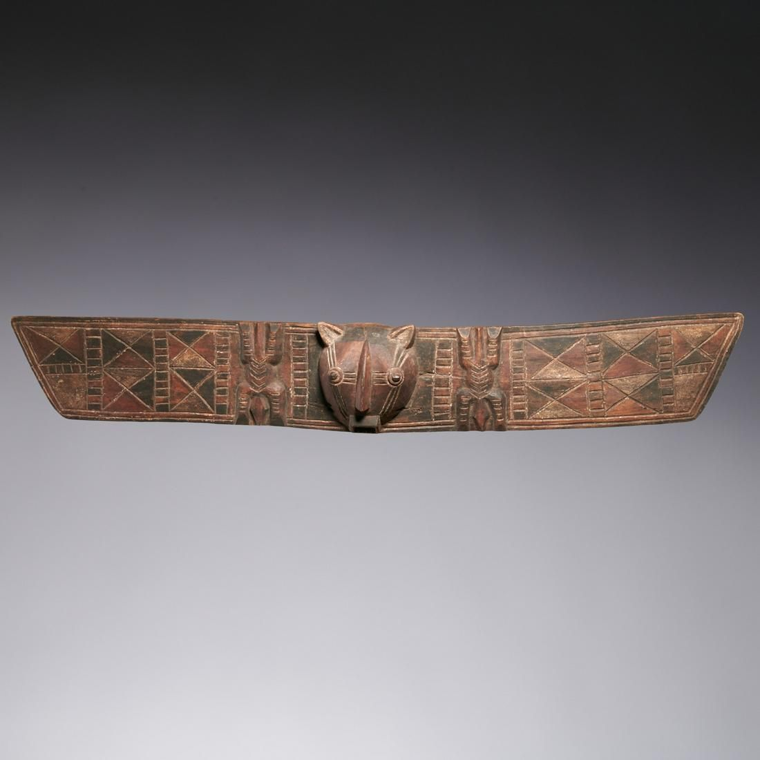 Bobo Peoples, large plank mask, ex-museum