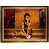 Marc Klionsky, large scale oil on canvas, 1984