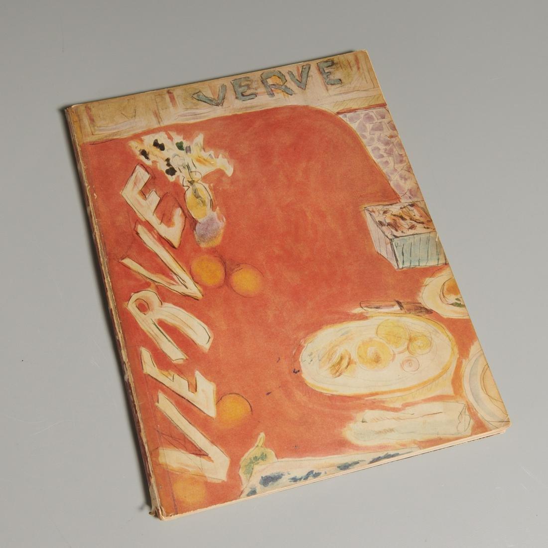 Verve Magazine No. 3, 1938 with lithographs
