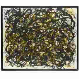 Mark Tobey (attrib.), painting