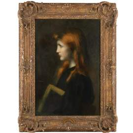 Jean-Jacques Henner (attrib.), painting