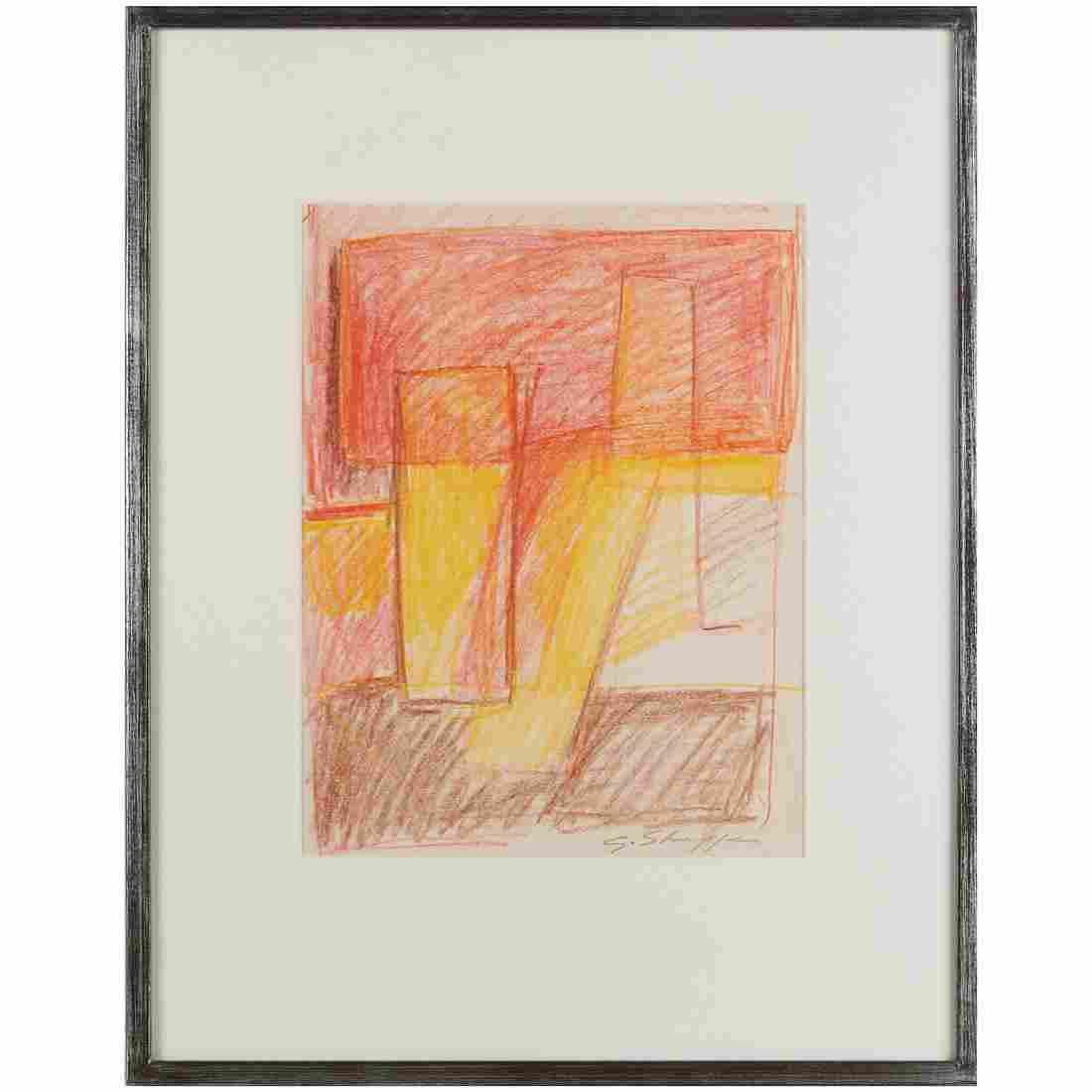 Gary Lee Shaffer, pastel drawing