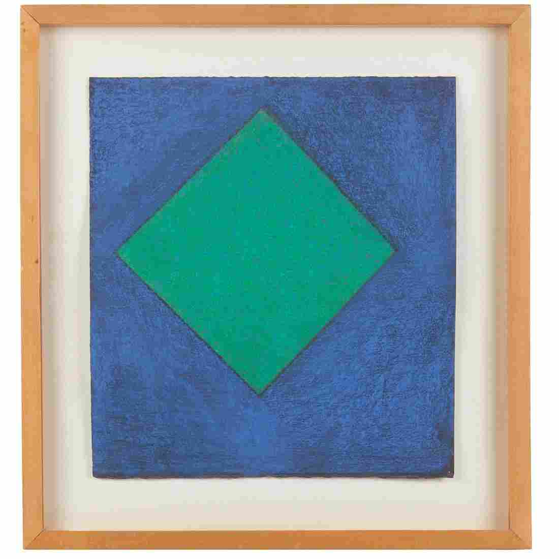 Winston Roeth, abstract pastel