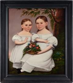 Hannah Fairfield, Double Oil Portrait