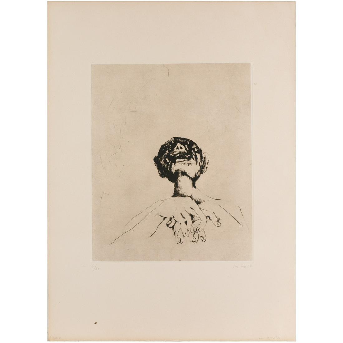 Anton Zoran Music, etching