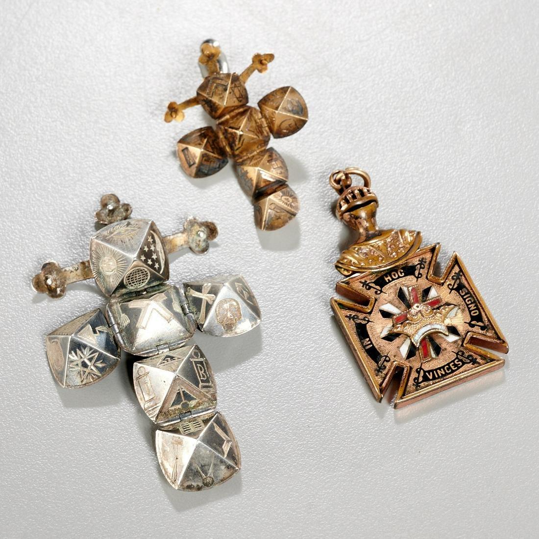 Masonic jewelry group