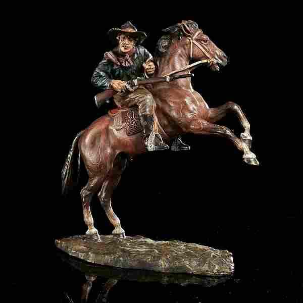 Carl Kauba, cold-painted bronze