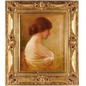 G Coriset antique painting