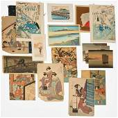 Japanese woodblock print collection