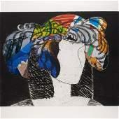 Manolo Valdes, color lithograph, 1995