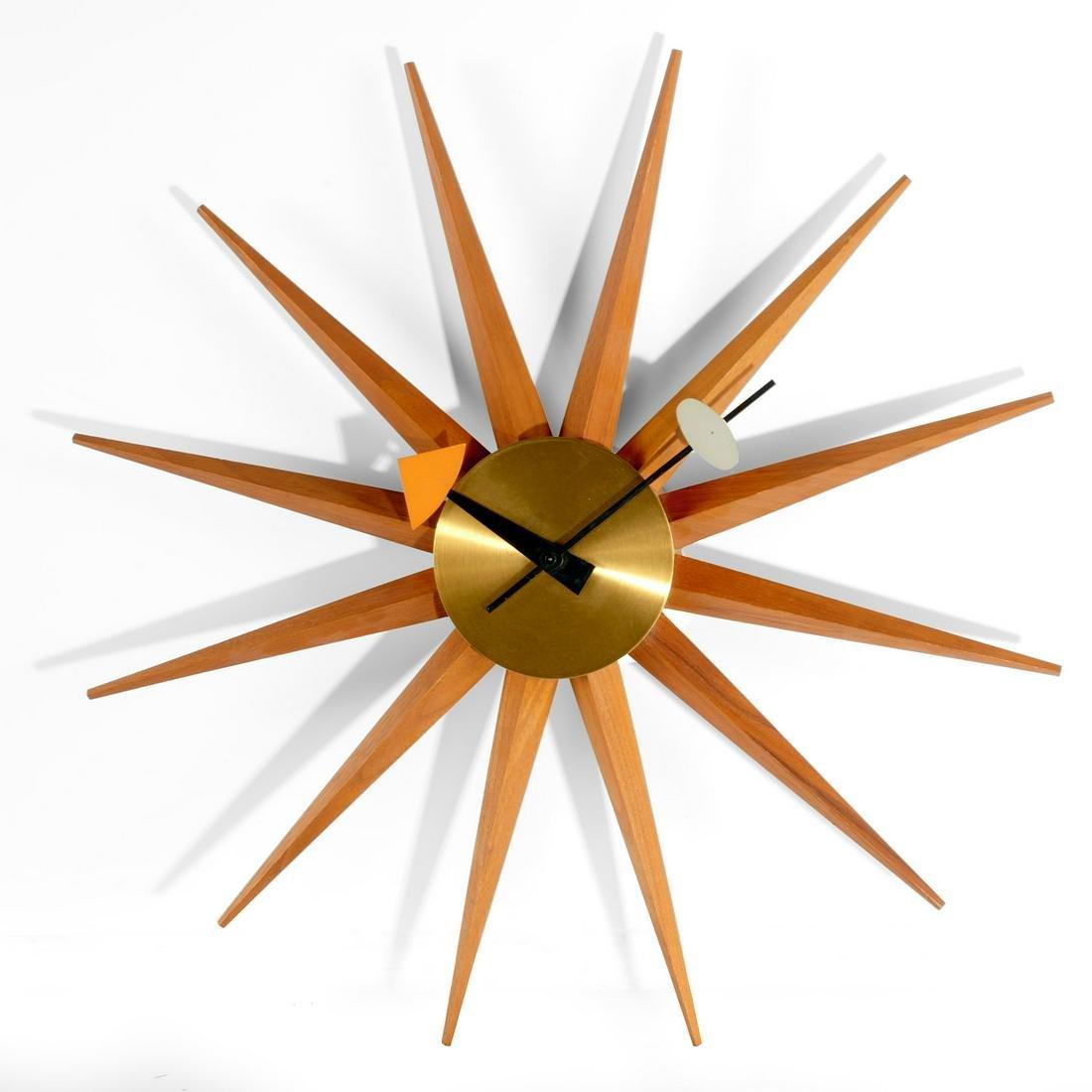 George Nelson, Spike wall clock
