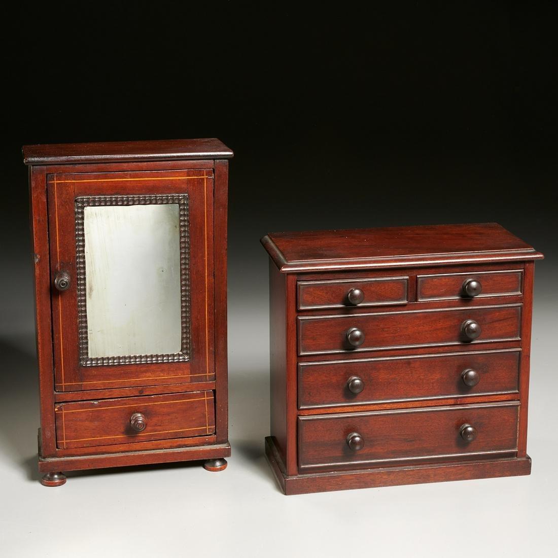 Antique English & American furniture miniatures