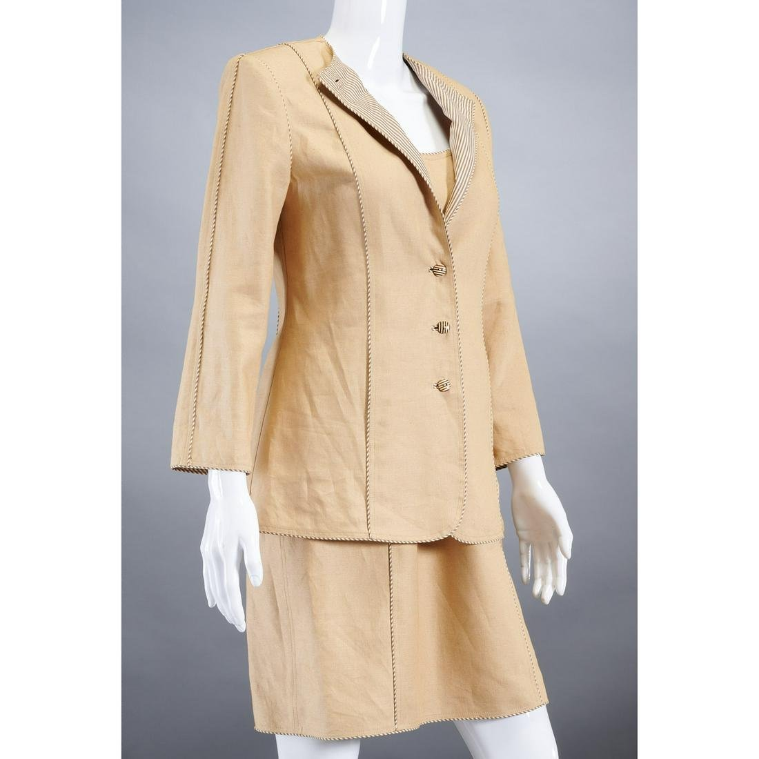 Geoffrey Beene jacket & dress ensemble