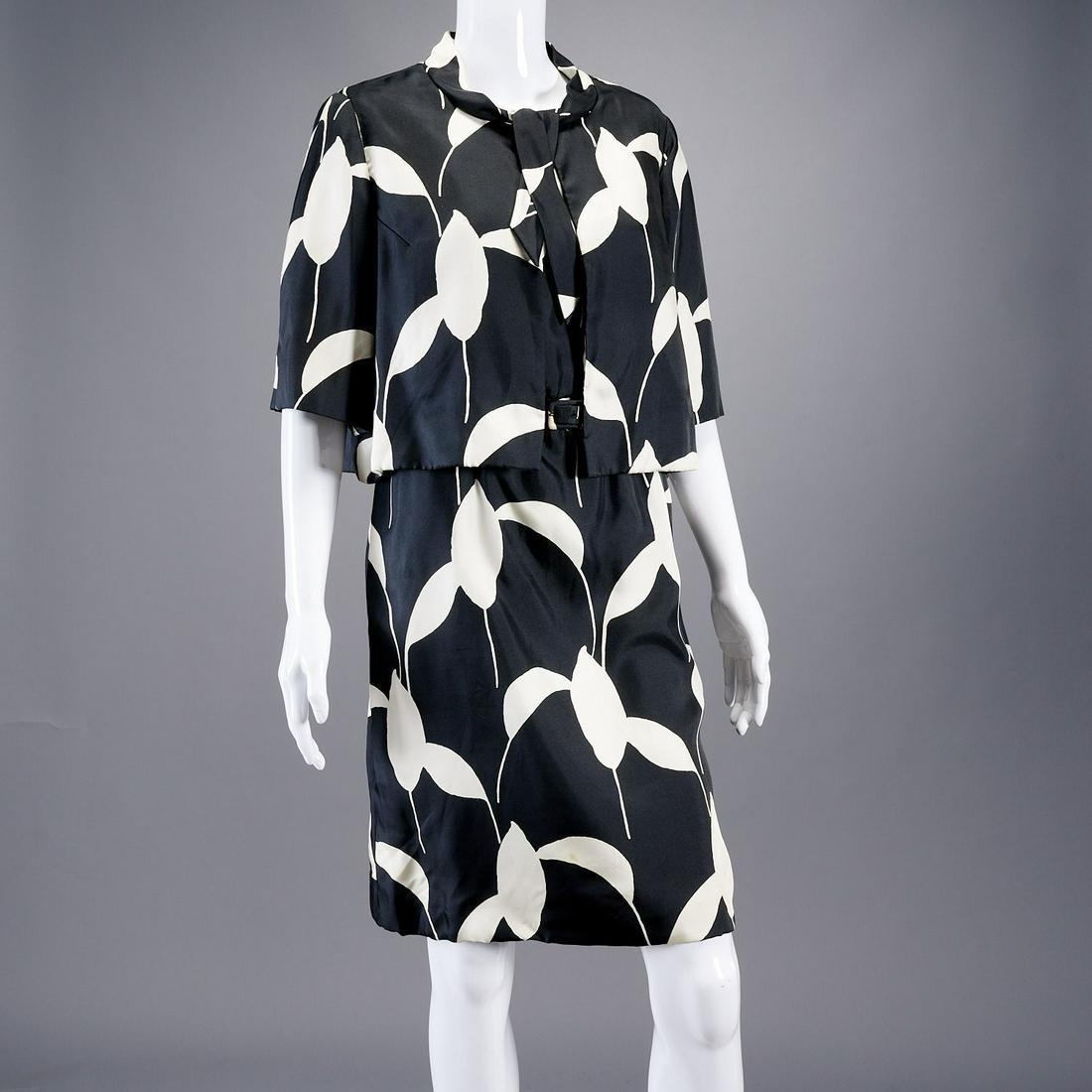 Bill Blass for Maurice Rentner dress ensemble