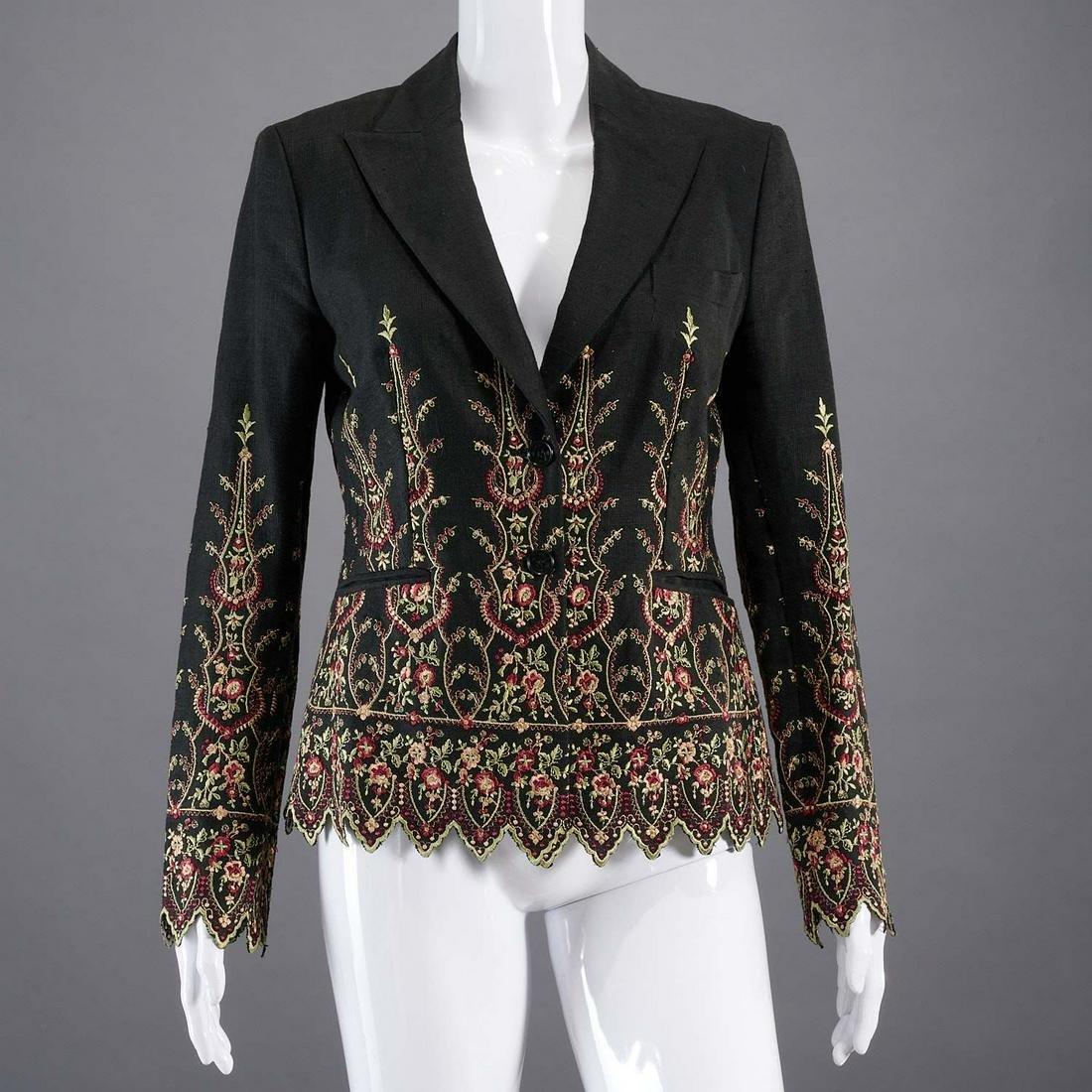 Etro Milano embroidered jacket