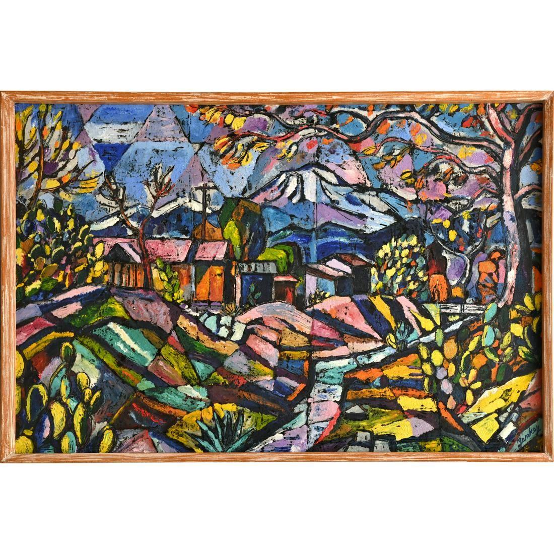 Tibor Jankay, painting