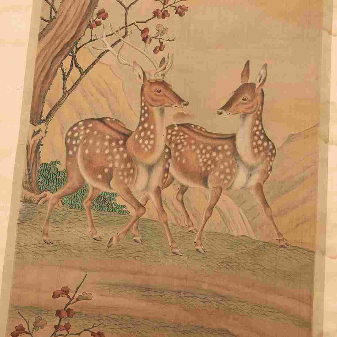 Chinese School, scroll painting, ex. Sotheby's