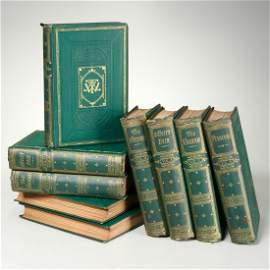 William M. Thackeray, (9) vols, 1869