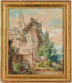 Continental School painting