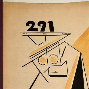 """Stieglitz, """"291"""" No. 1, 1915, w/Arno issues 1-12"""