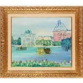 Jean Dufy, oil on canvas