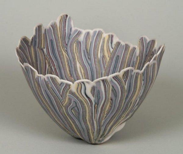 196: Curtis Benzle (b. 1949, American), studio porcelai
