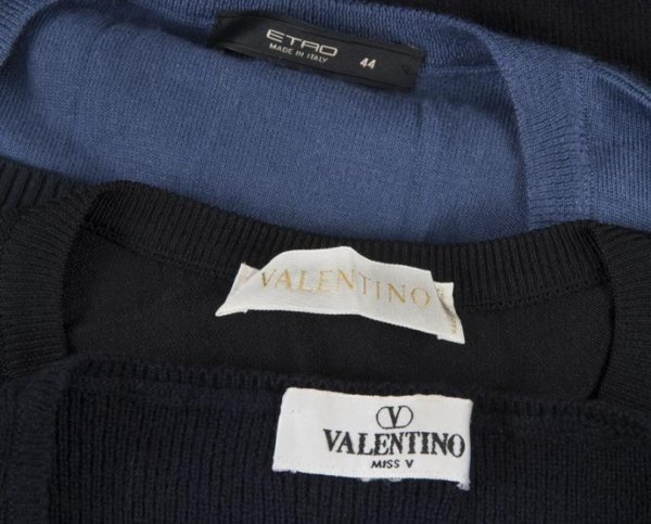 405: Group Valentino and Etro sweaters - 2