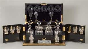 446: Nice Victorian gilt bronze mounted calamander tant