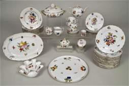 "591: Assembled Herend ""Market Garden"" part dinnerware s"