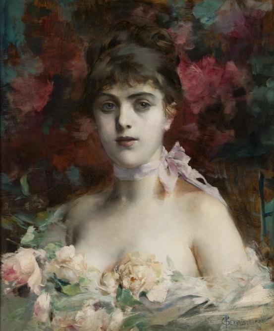 846: Paul-Jean Gervais (1859-1936, French), painting