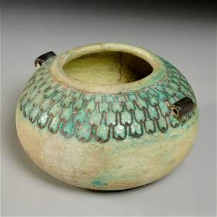 Egyptian faience bowl