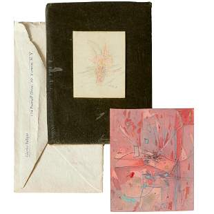 Charles Seliger, (2) small drawings, c. 1956