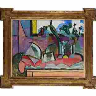 Karl Knaths, oil on canvas, 1958