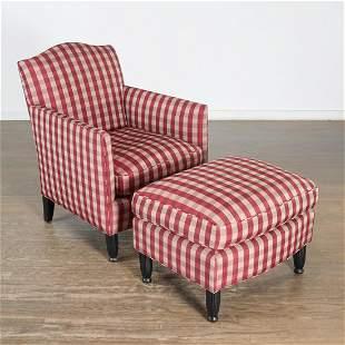 Juan Pablo Molyneux, custom chair and ottoman