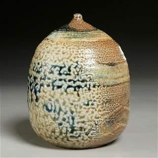 Toshiko Takaezu, ceramic Moonpot
