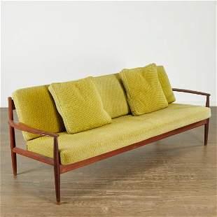 Grete Jalk, Danish Modern teak sofa