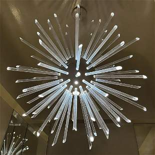 Hansen Lighting, custom sputnik pendant light