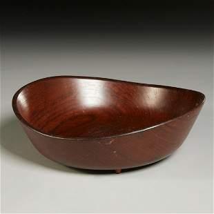 Finn Juhl, teak bowl