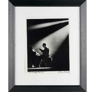 Herman Leonard, Duke Ellington, 1958/1990