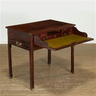 Interesting George III work table secretary