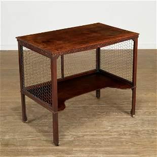 George III mahogany supper table, Parish-Hadley