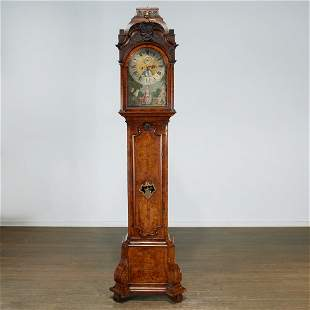 Dutch Baroque tall case clock, ex Morgan Library