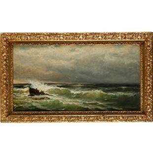 Jonathan B. Morse, oil on canvas