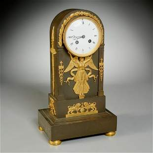 Tiffany & Co. retailed Empire mantle clock