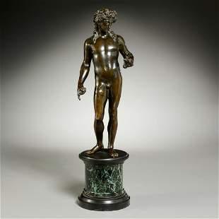 Large Grand Tour bronze of Dionysus